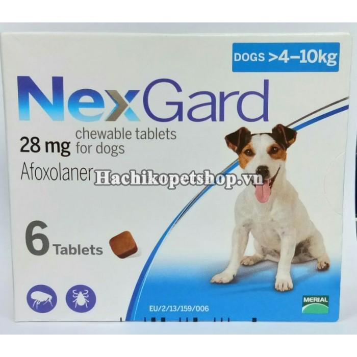 Thuốc Trị Ve Chó Dạng Viên Uống Nexgard