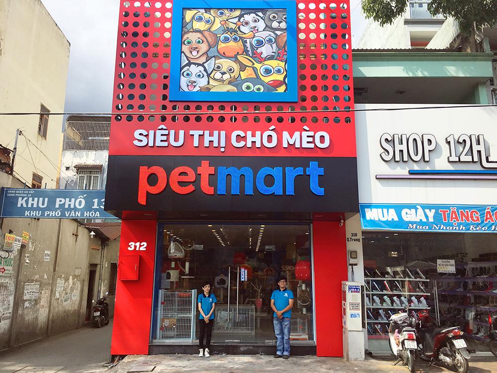 Khách sạn thú cưng Pet Mart